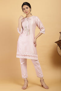 Candy Ivy Chanderi Silk Kurta Set
