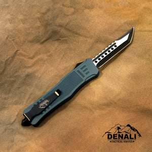 Large Denali Devil Dog OTF knife, 9.5 inches open