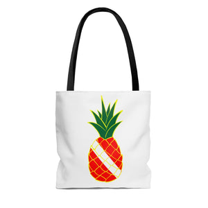 Classic Pineapple Tote Bag