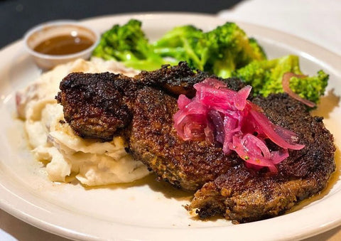 Black and Mobile 48th Street Grille Black-Owned Food Delivery