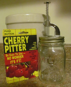 Push Button Cherry Pitter 🍒