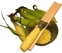 Load image into Gallery viewer, Wooden Corn Cutter and Creamer-Lee Manufacturing Company