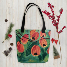 Load image into Gallery viewer, Ackee Tote bag Black
