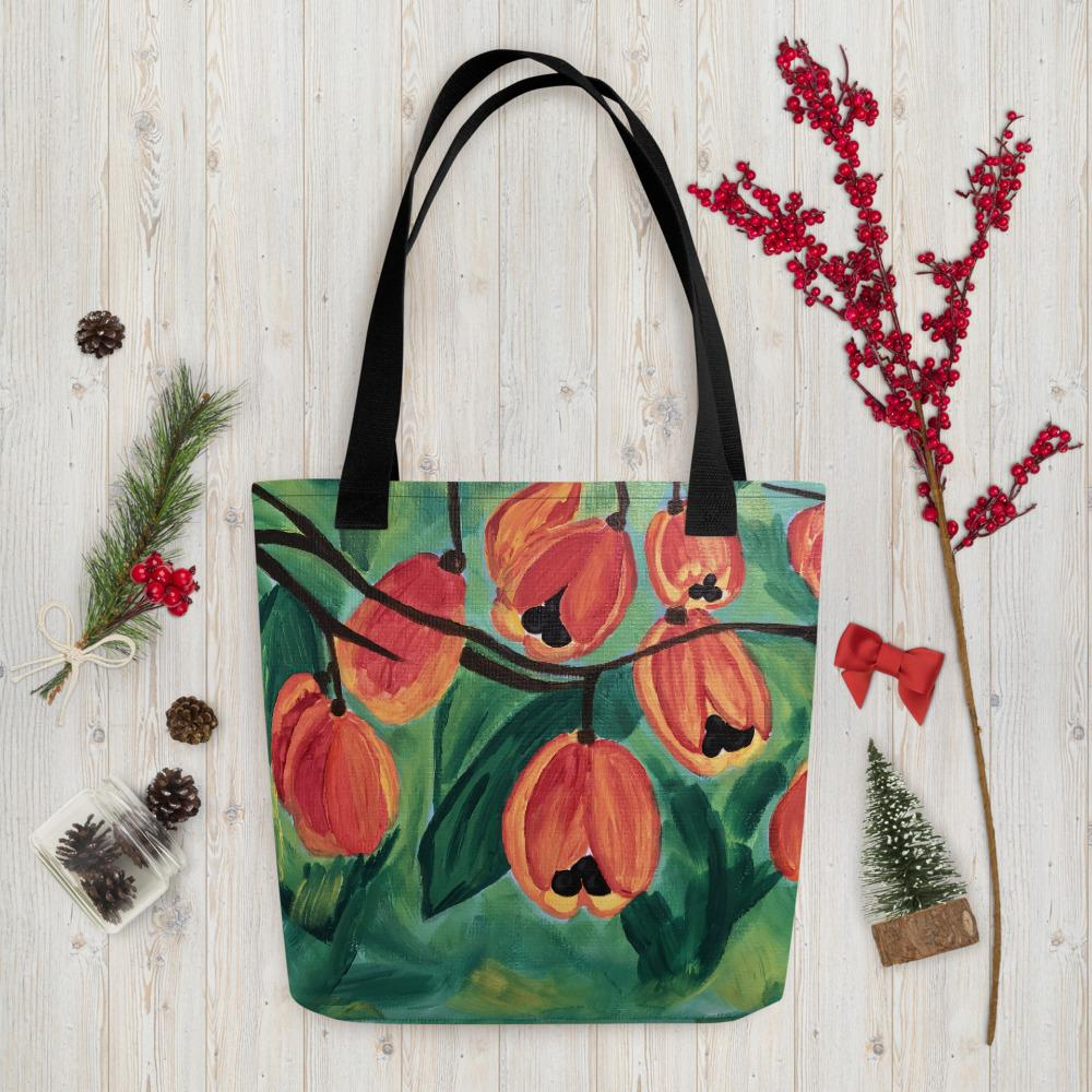 Ackee Tote bag Black