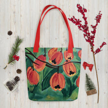 Load image into Gallery viewer, Ackee Tote bag Red