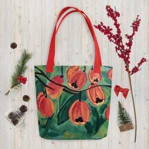 Ackee Tote bag Red