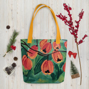 Ackee Tote bag Yellow