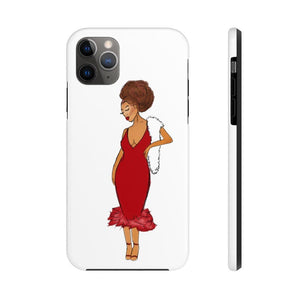 Afro Red Dress Tough Phone Case iPhone 11 Pro Max