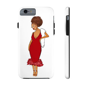 Afro Red Dress Tough Phone Case iPhone 6/6s Tough