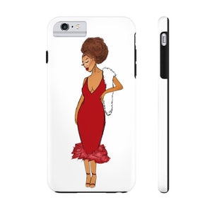 Afro Red Dress Tough Phone Case iPhone 6/6s Plus Tough
