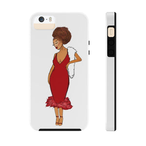 Afro Red Dress Tough Phone Case iPhone 5/5s/5se Tough