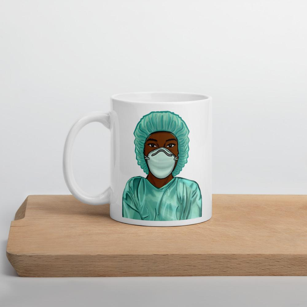 Black Nurse Mug 11oz