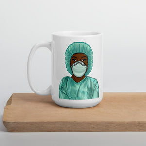 Black Nurse Mug 15oz