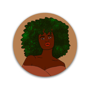 Brown Girl Sticker