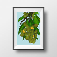 Load image into Gallery viewer, Guinep Art Print