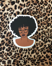 Load image into Gallery viewer, Black Girl Sticker Pack of 5