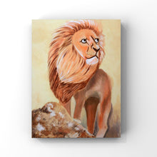 Load image into Gallery viewer, Lion Oil Painting