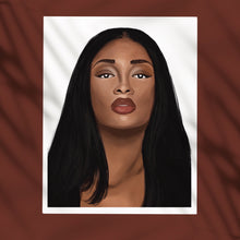 Load image into Gallery viewer, Megan thee Stallion Digital Art Print
