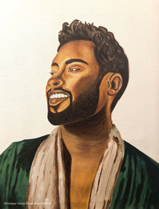 Miguel Oil and Acrylic Painting