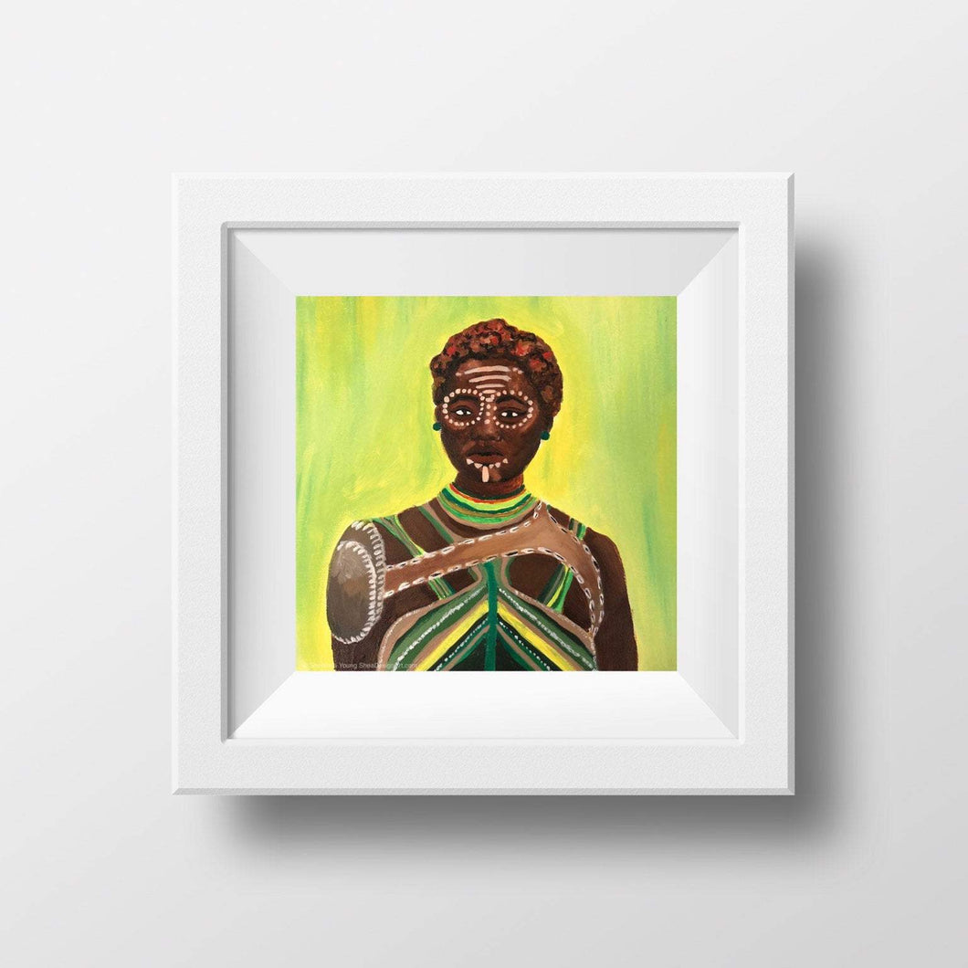 Nakia Wakanda Inspired Art Prints