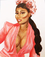Load image into Gallery viewer, Nicki Minaj Acrylic Painting