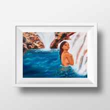 Load image into Gallery viewer, Oasis Waterfall Art Prints