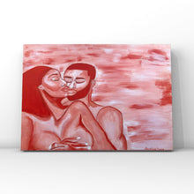 Load image into Gallery viewer, Romance Acrylic Painting