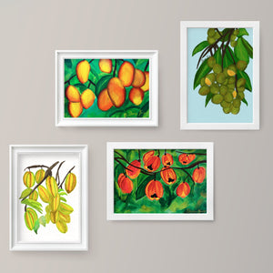 Tropical Fruits Art Print Bundle
