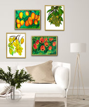Load image into Gallery viewer, Tropical Fruits Art Print Bundle Set of 4 Prints