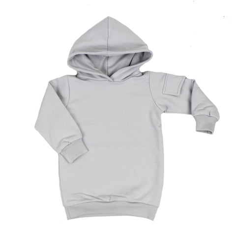 Hoodie Dress - Zijzakje - Sleek