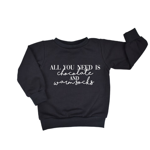 Sweater - All You Need Is... - Meerdere kleuren