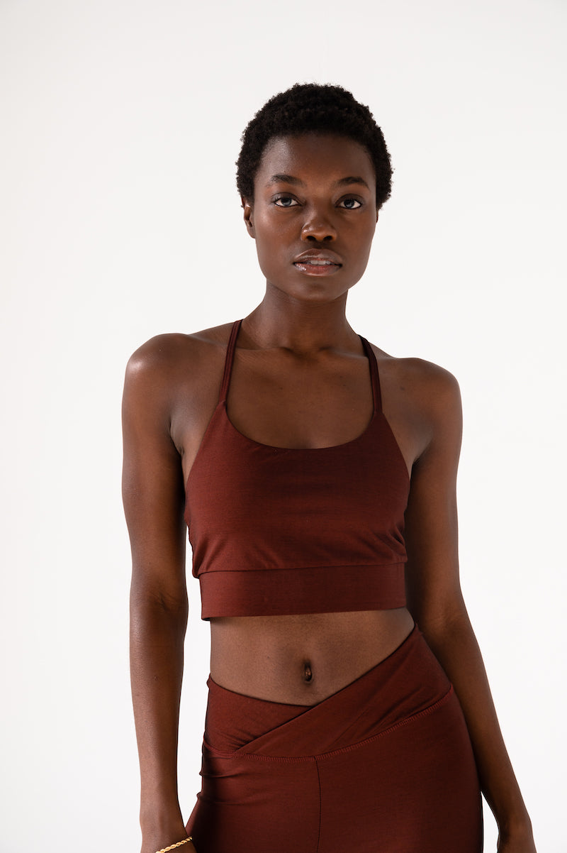 Colorsphere Bra Top - Furnace/Black