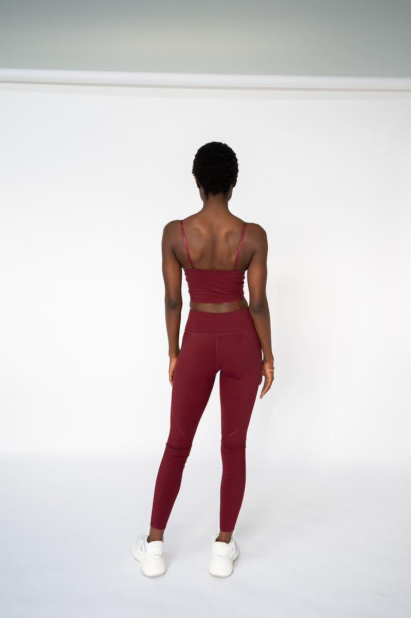 Bonded Legging - Port
