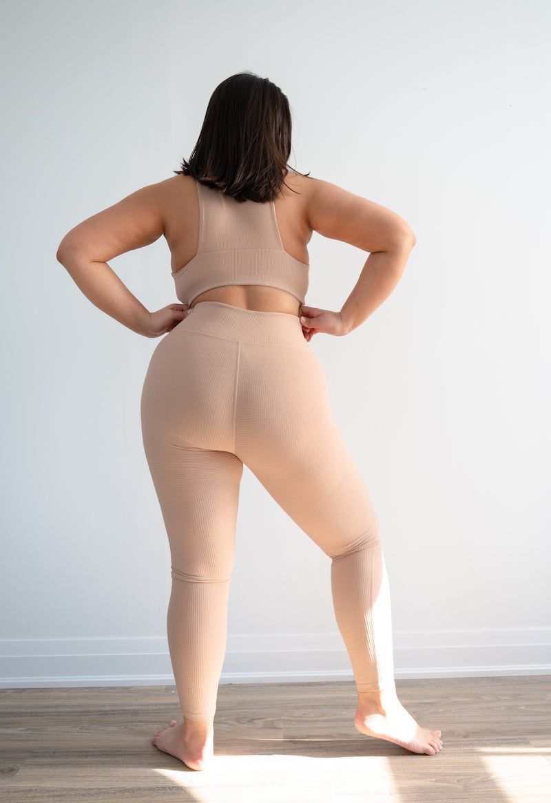 Thermal Hockey Legging - Tan