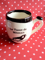 The mother mug (môman version in Quebec) white.your ideal gift for Mother's Day !