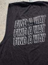 Sleeveless 'Find A Way' Tank