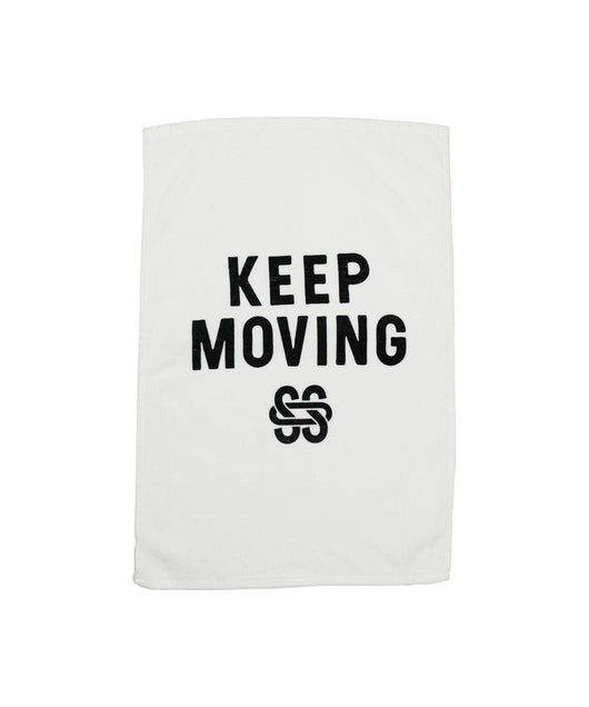 SOS Keep Moving Studio Towel