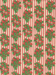 Vintage Woolworth Christmas Wrapping Paper One Flat Sheet Christmas Bells Holly Berries Vintage Christmas Gift Wrap Christmas Decoration