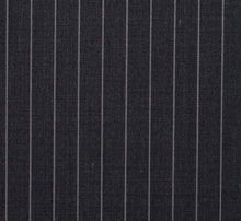 Load image into Gallery viewer, Classic Grey Pinstripe, Super 150, Wool