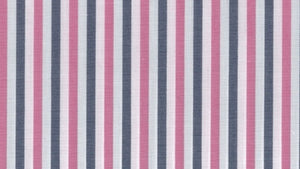 Pink and Charcoal Stripe