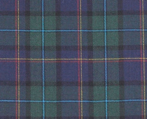 The Gentleman's Green and Blue Tartan with Red and Light Blue Accents