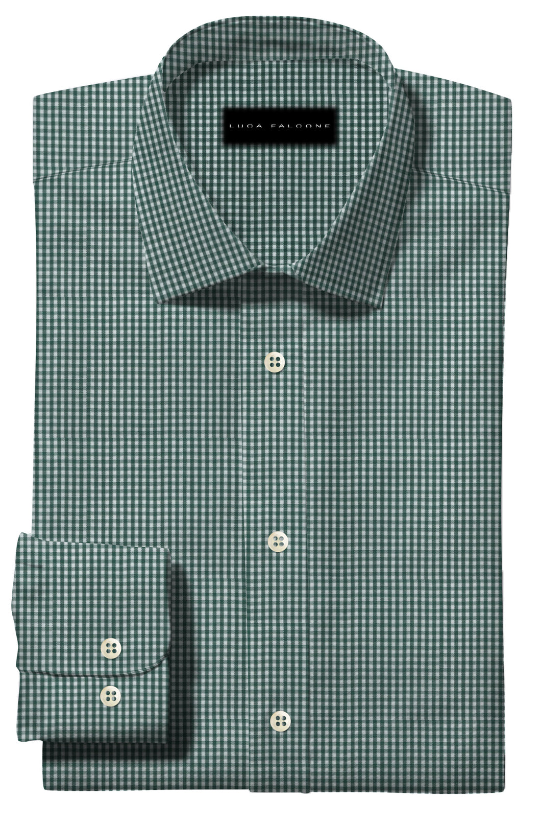 Deep Green Gingham
