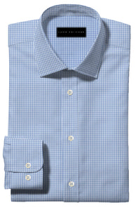 Light Blue Small Gingham
