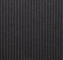Load image into Gallery viewer, Grey Close Spaced Worsted Pinstripe, Super 160, Wool