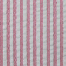 Load image into Gallery viewer, Pink Stripe Seersucker