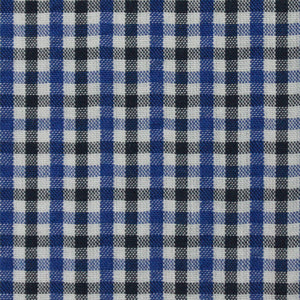 Blue with Contrast Multi Check Pattern Seersucker