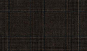 Seasoned Brown with Subtle Rich Green Pattern, Super 150, Wool