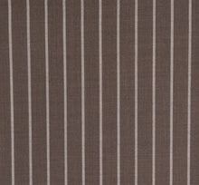 Load image into Gallery viewer, Bold Mocha Pinstripe, Super 150, Wool