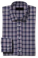 Load image into Gallery viewer, Navy Blue with Contrast Plaid