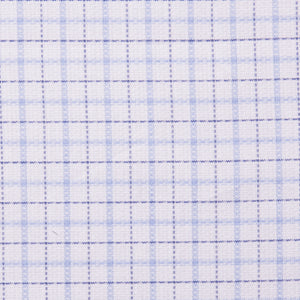 Royal and Light Blue Check Pattern